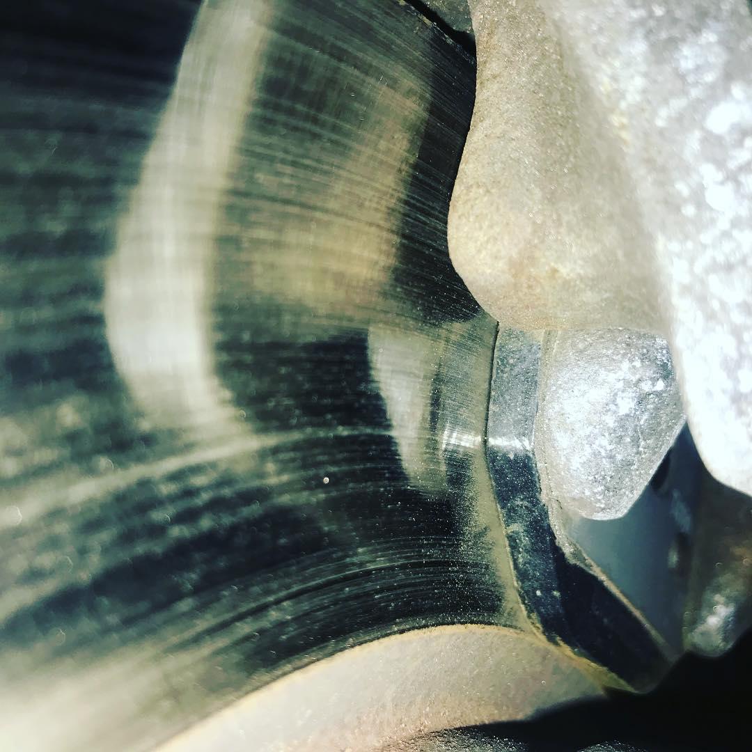 Раскололся тормозной диск на BMW 5