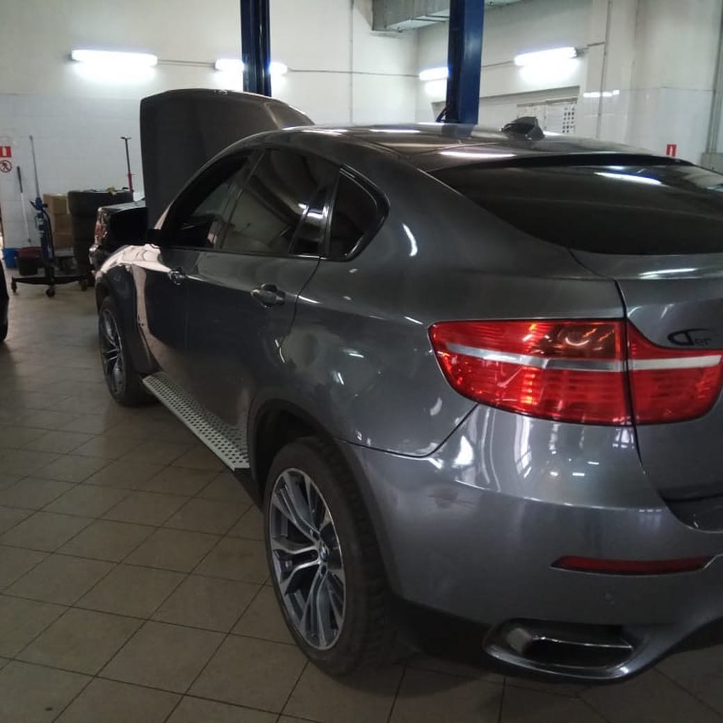 Замена сдвоенного троса на BMW X6