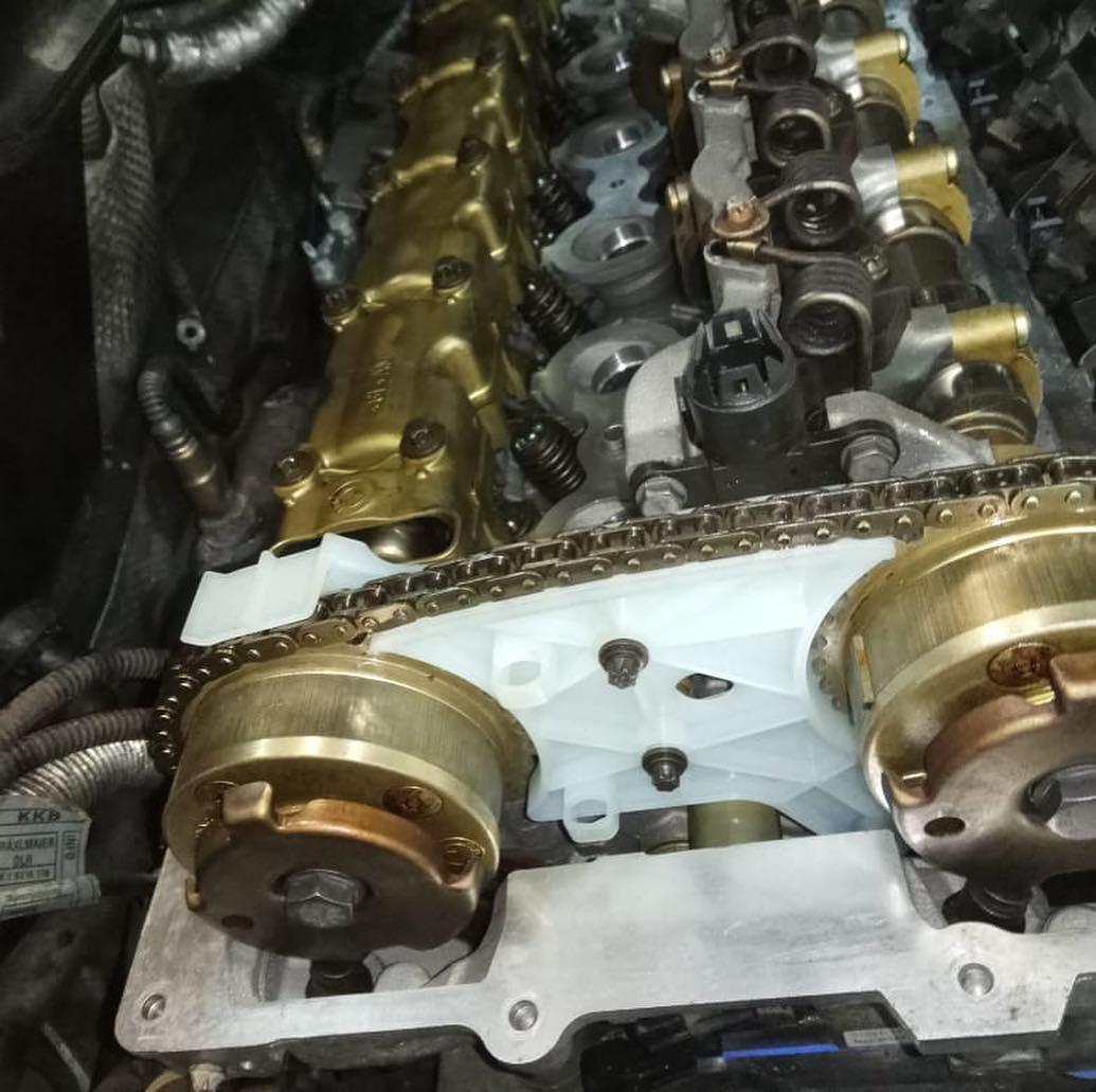 Устранения чрезмерного расхода масла на BMW 3 e90