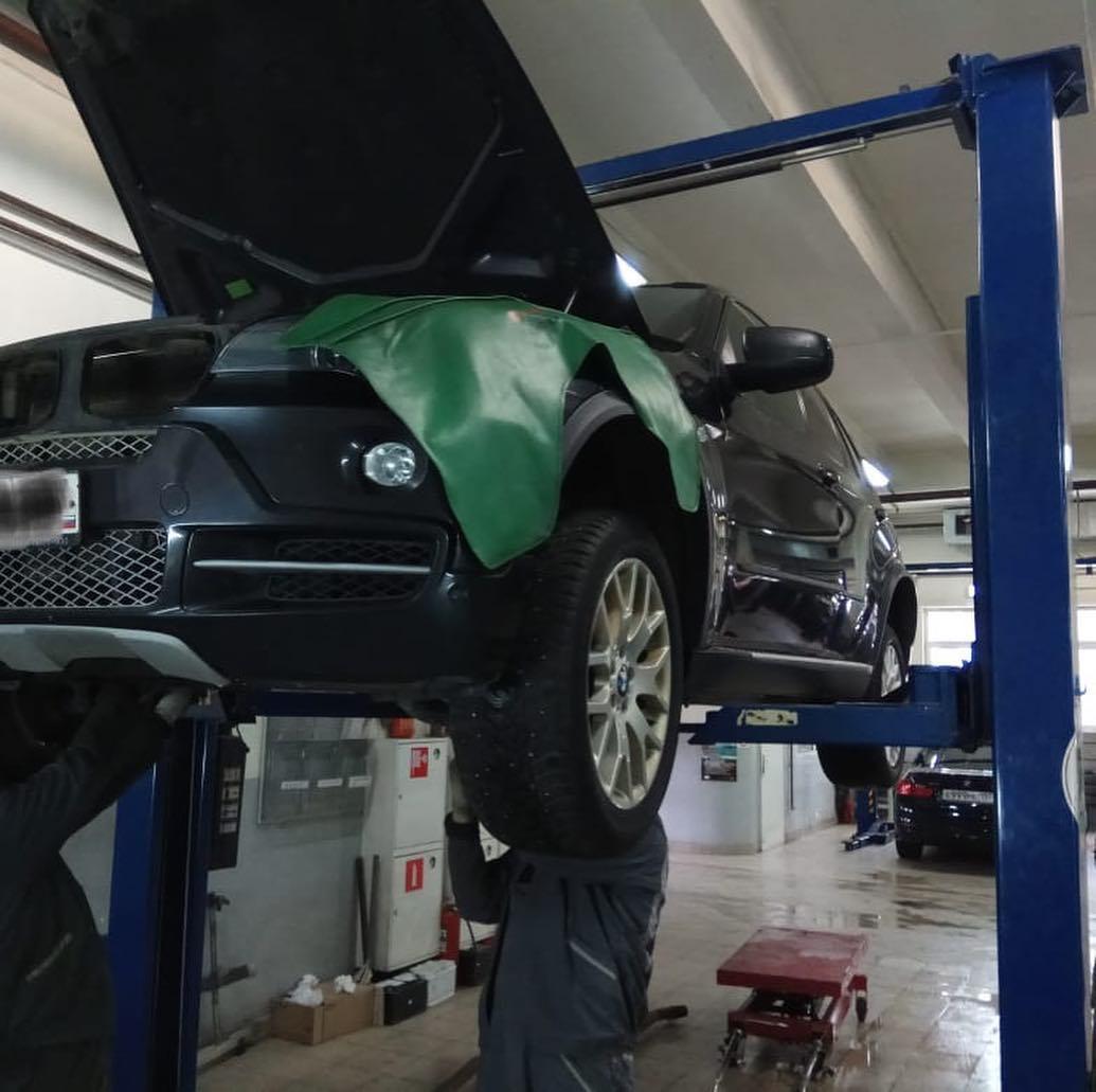 Диагности и ремонт BMW X5