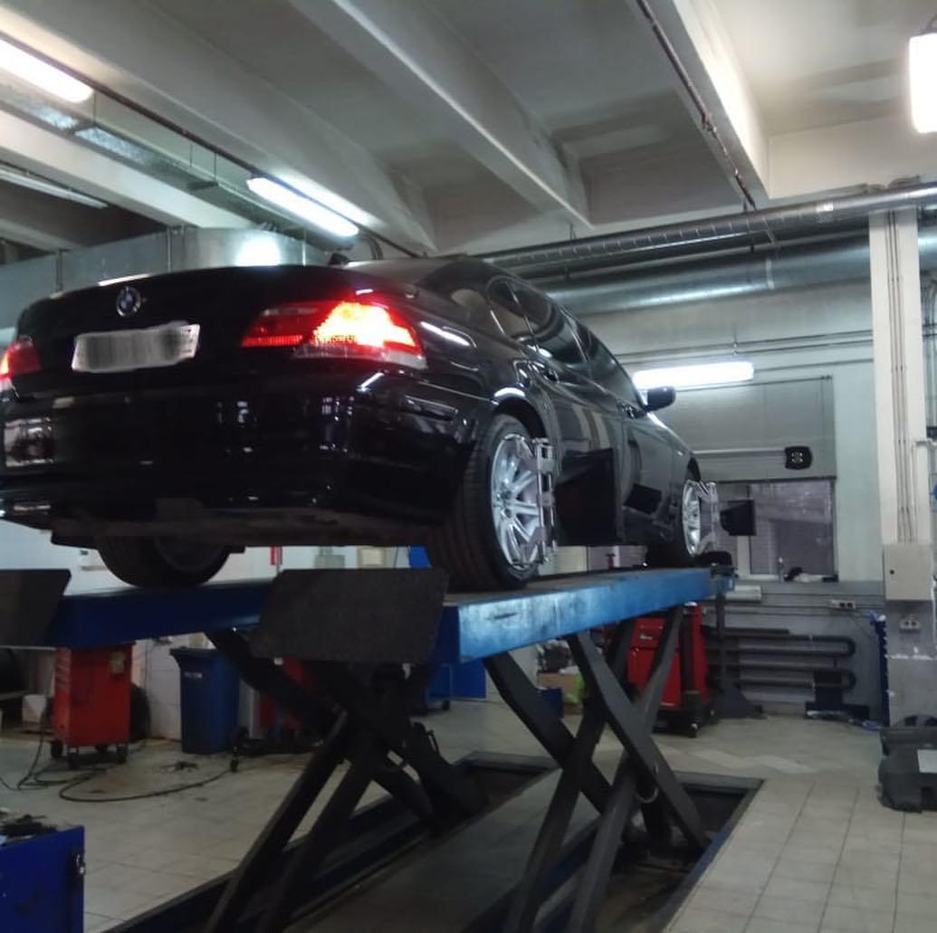 Покраска BMW 7