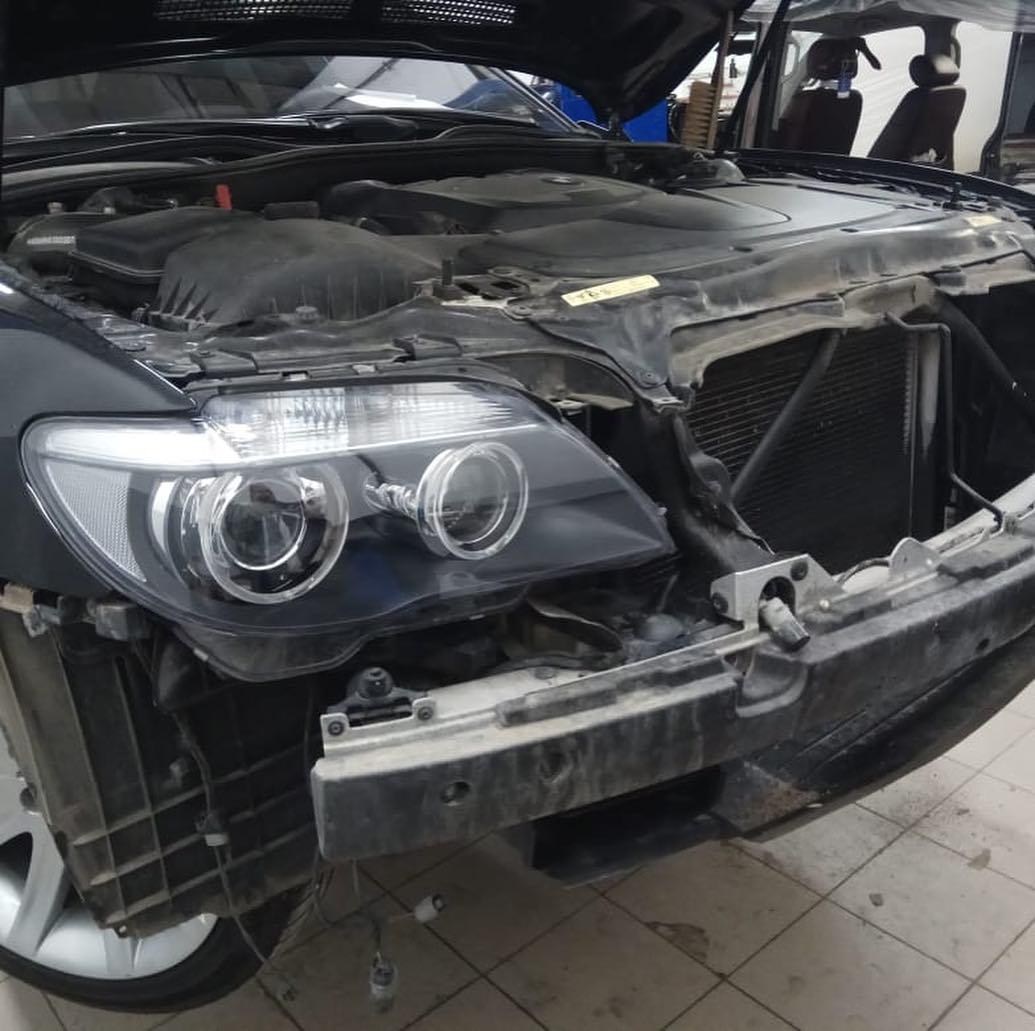 ТО и ремонт BMW 740
