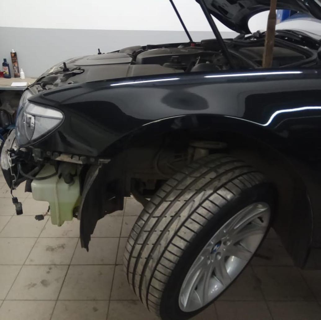 Ремонт тормозной системы BMW 740 e66