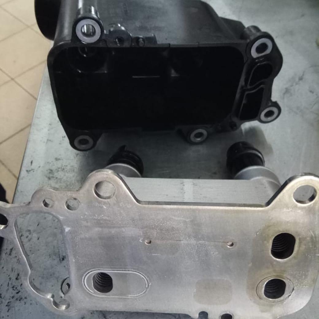 Замена прокладки маслянного стакана на двигателе M57 по регалменту BMW