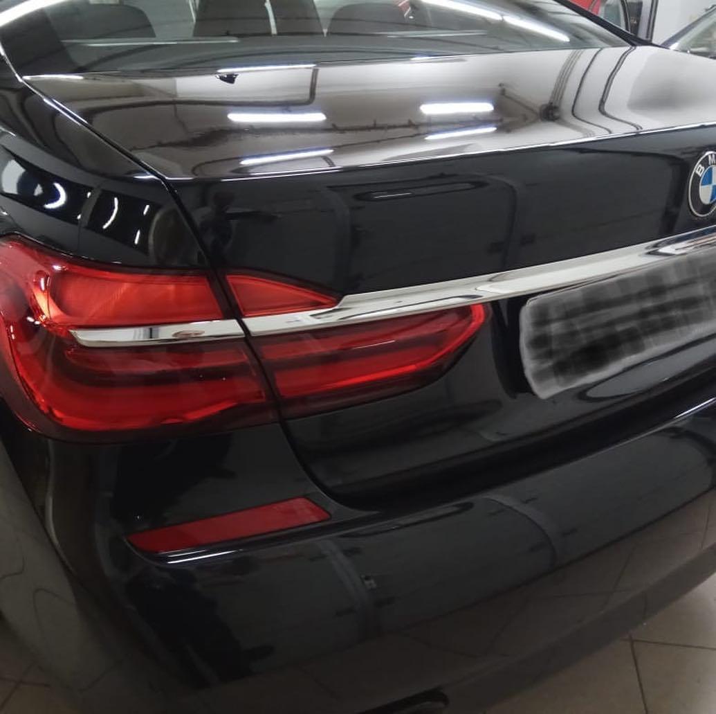 Защитная пленка на BMW 7 G11