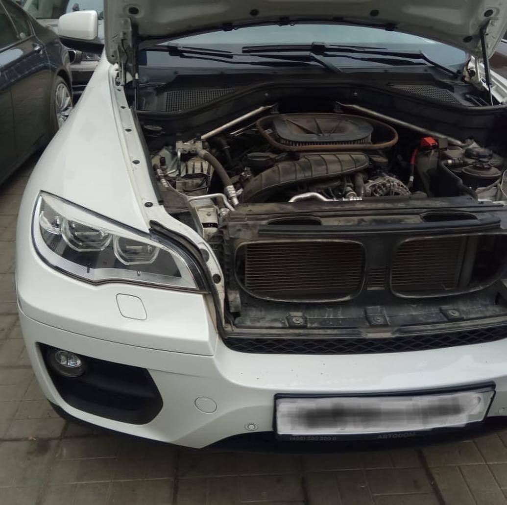 Ремонт ходовой на BMW X6