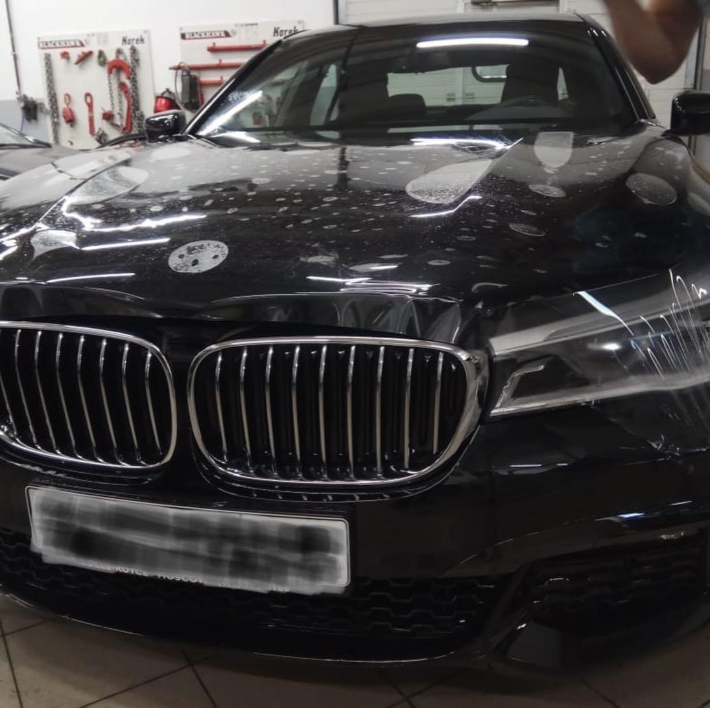Покрытие защитной пленкой BMW 7 G11