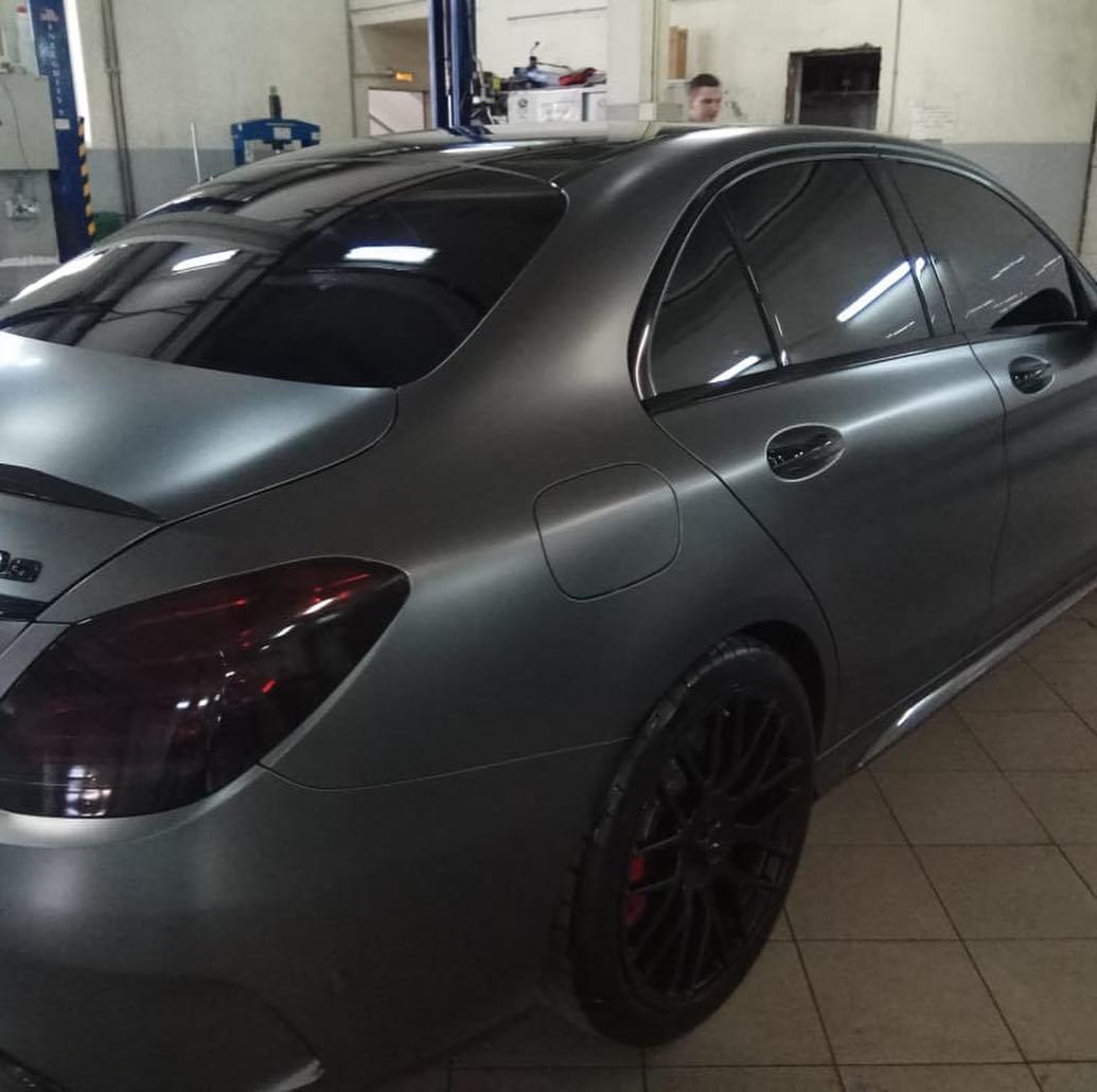Покраска элементов и дисков Mercedes AMG