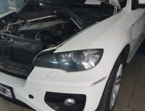 Течь масла на BMW X6