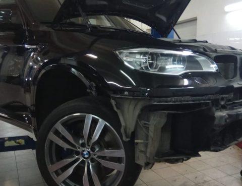 Повышенный расход омывающей жидксоти на BMW X6M