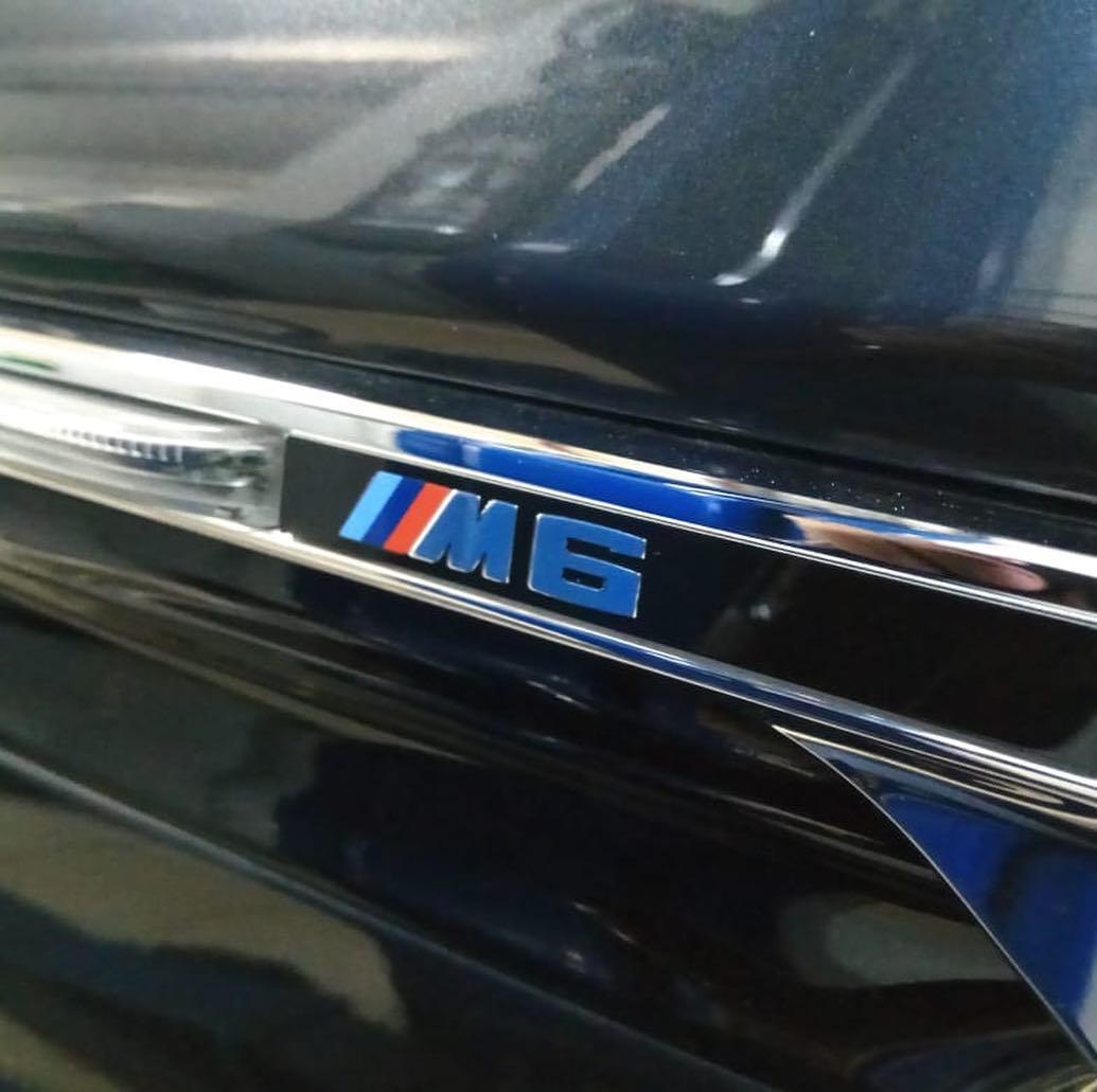 Обработка крышы кабриолета BMW M6