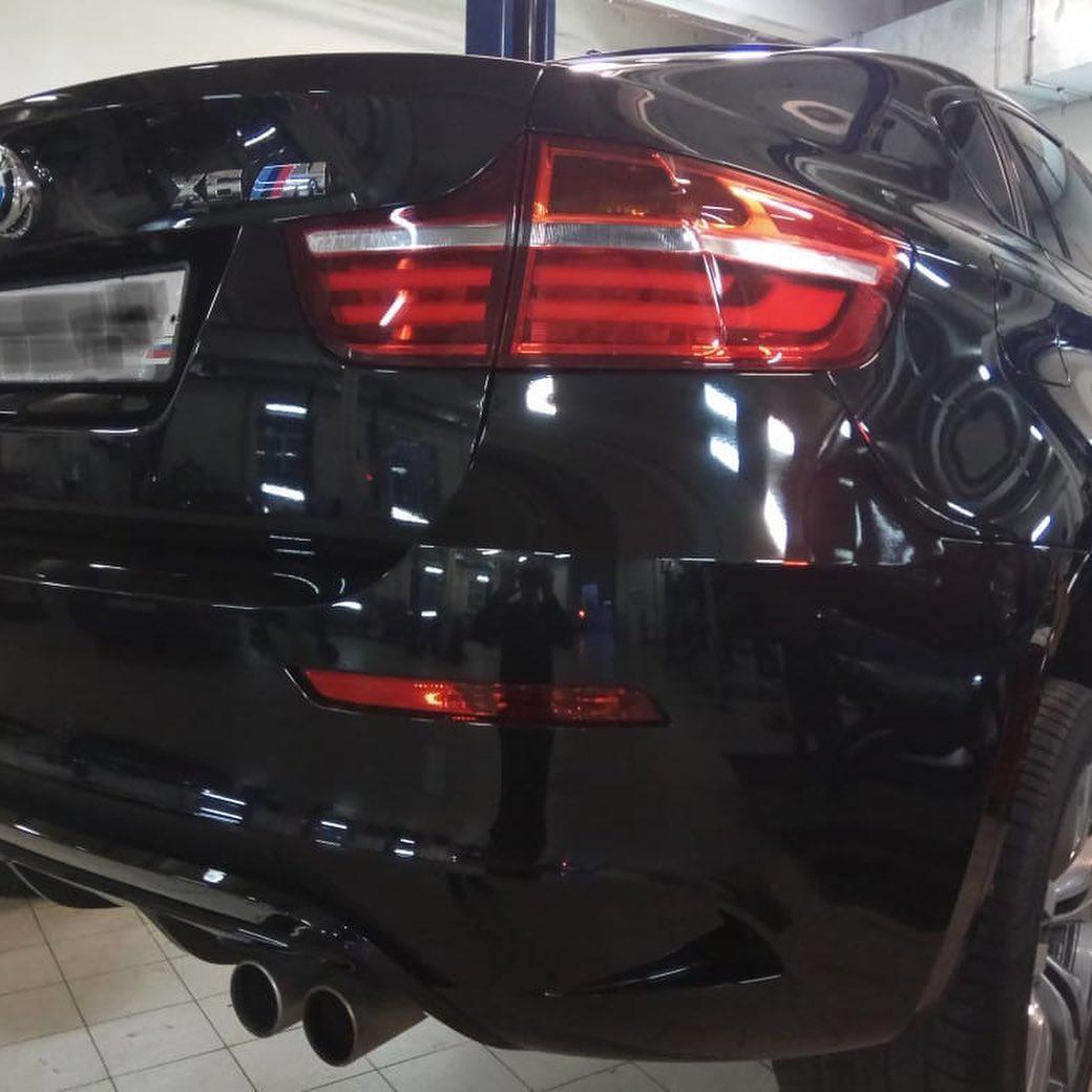 Рмеонт омывателей фар на BMW X6M