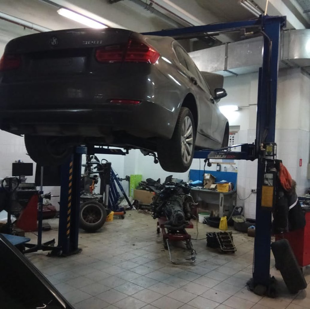 Ремонт двигателя на BMW F30