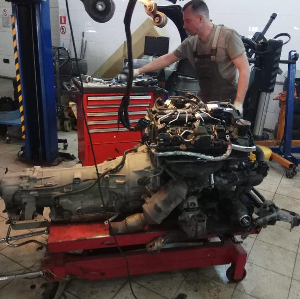 Замена уплотнителей на моторе N20 БМВ 3 серии