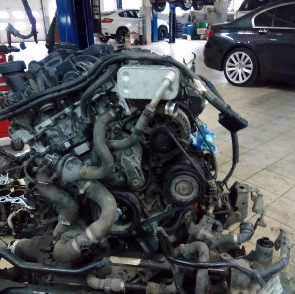 Разборка и сборка мотора N20