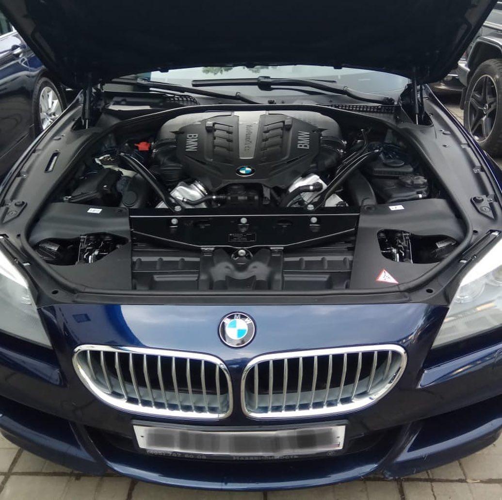Ремонт мотора на BMW 650 F12