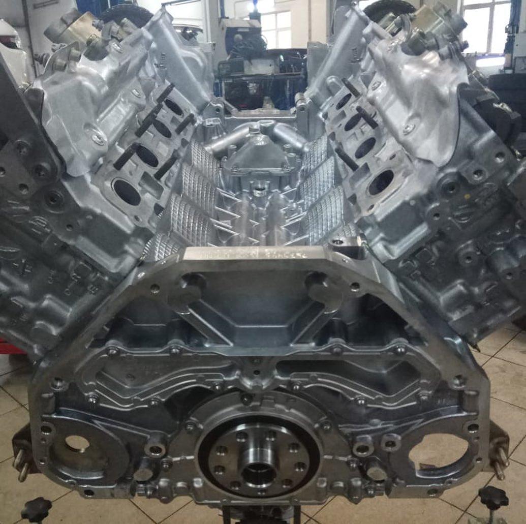Замена блока двигателя на БМВ 6