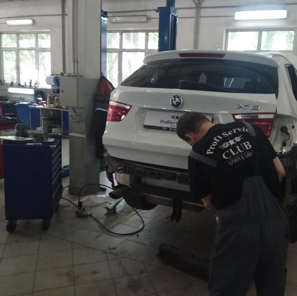 Дооснащение BMW X3 фаркопом