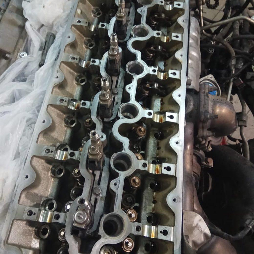 Устранение повышенного расхода масла на моторе N74B60