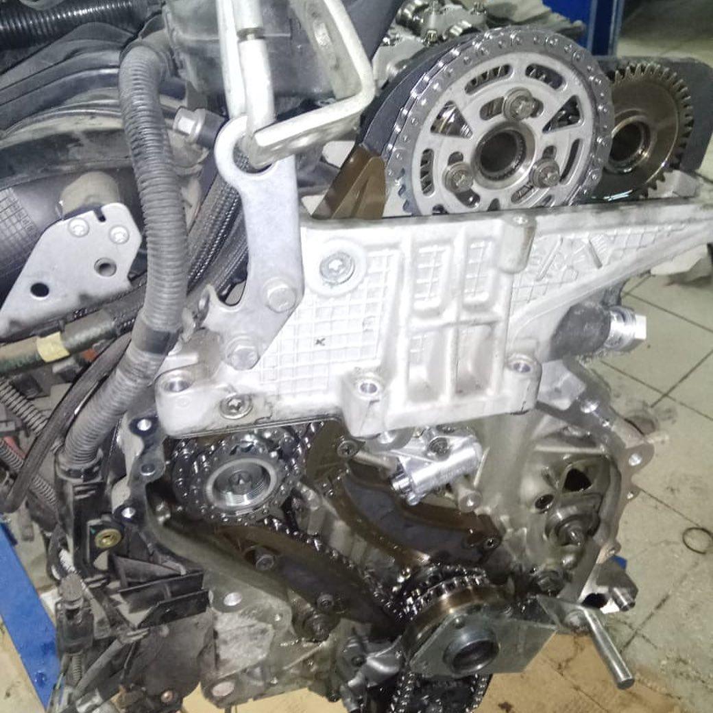 Демонтаж двигателя N47