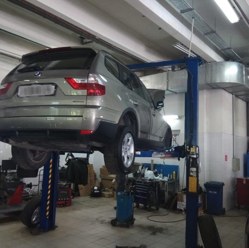 Замена цепи газораспределительного механизма на BMW X3