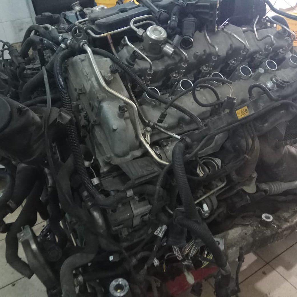 Замена маслосъемных колпачков на моторе N74B60