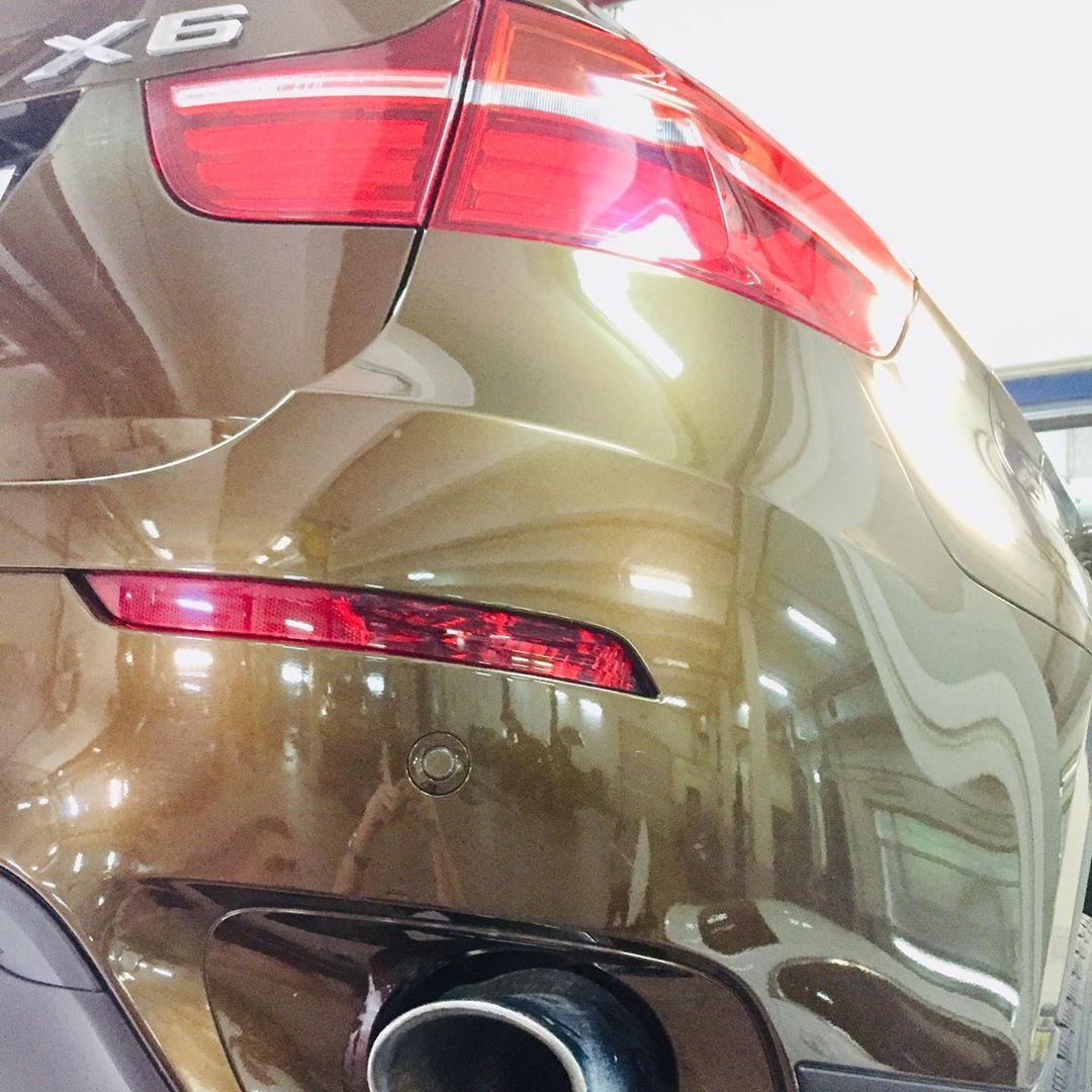Замена масляного фильтра на BMW X6