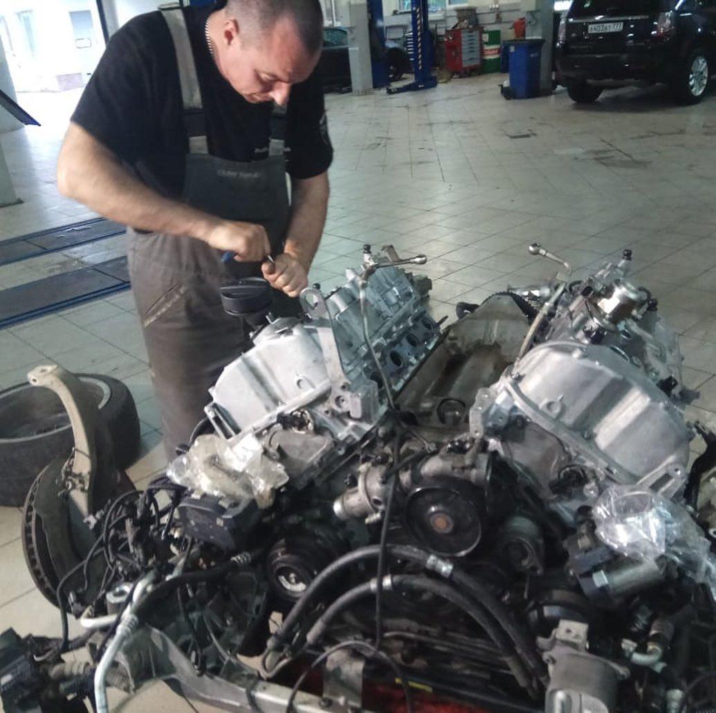 BMW 650 ремонт и обслуживание мотора N63