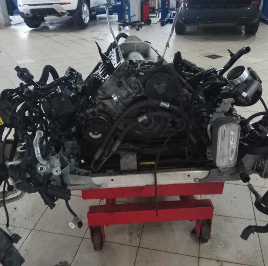 Ремонт мотора N63 BMW