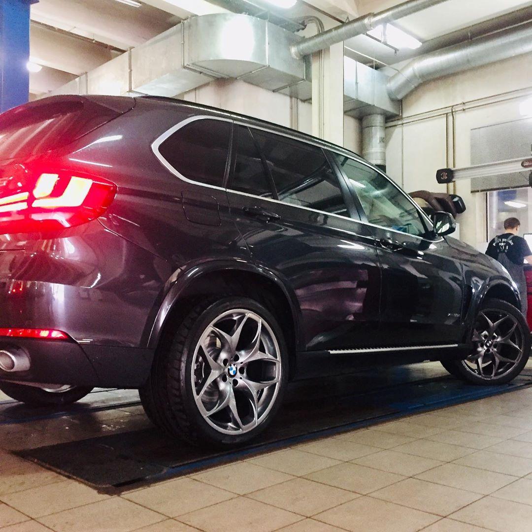 Обновление колесных дисков на BMW X5