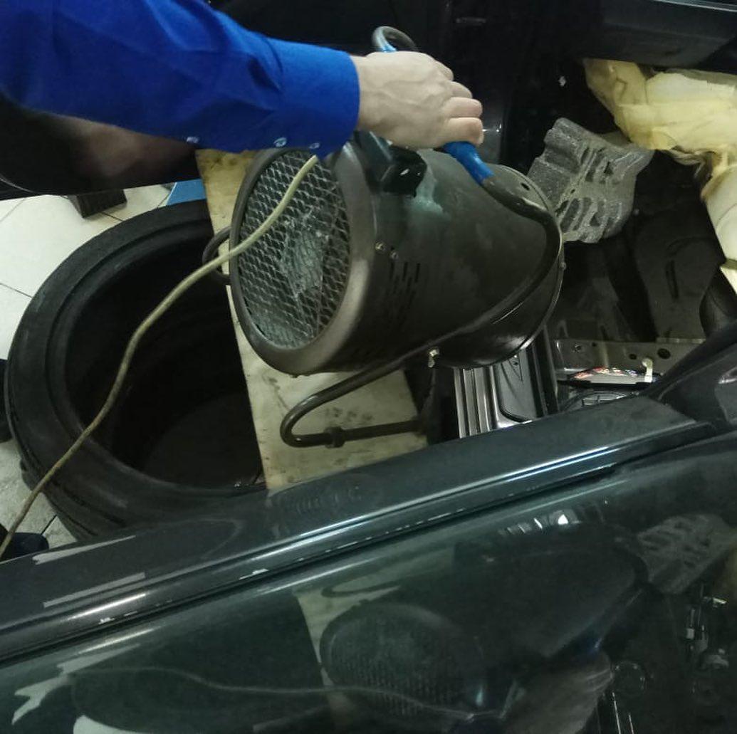 Дренажи на БМВ 5 как прочистить