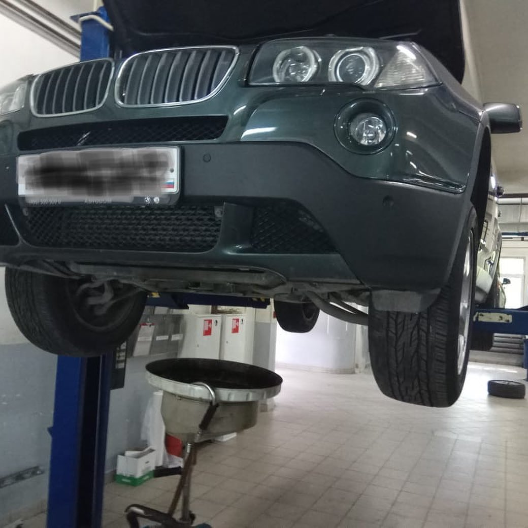 Замена рычагов передней подвески БМВ Х3 Е 83