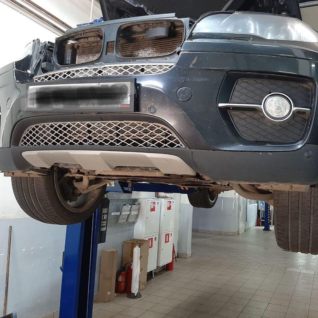 Замена прокладки поддона N54 BMW X6
