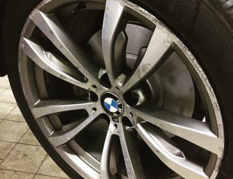 Приводим колёсные диски автомобилей BMW в правильное состояние