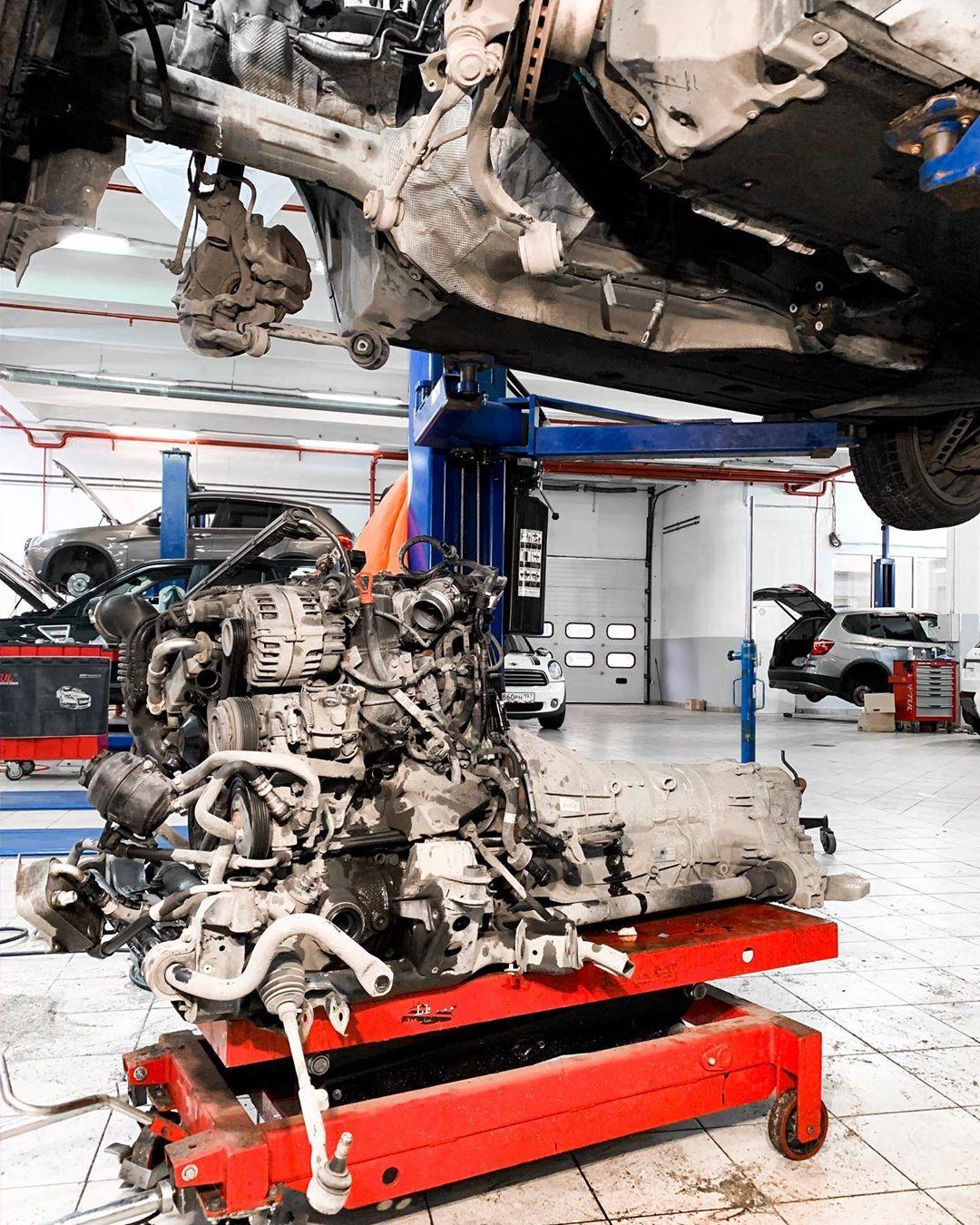 Как поменять цепь ГРМ на дизельном BMW X1