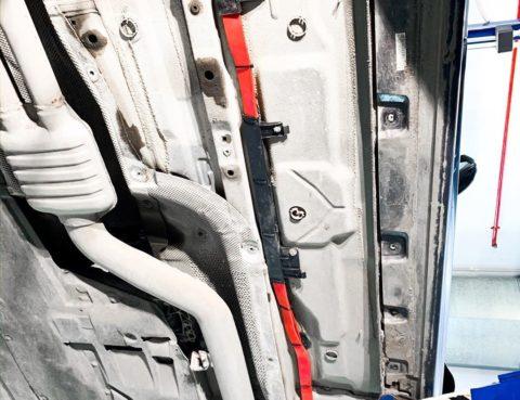 Восстановление силового кабеля на аккумулятор БМВ